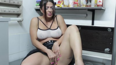 Maid Silvana lose control at work for some fun as fuck!