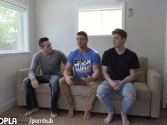 All Hot Guys! Attractive 3WAY with some of GAY PORN's Hottest DUDES.