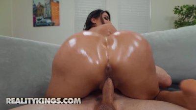 Reality Kings - Giant ass latina Lela Star takes big dick