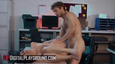 Digital Playground - Small tit Jane Wilde fucks her boss