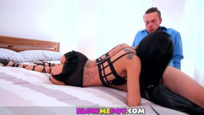 Blow me POV - Xart babe Sucking Dicks