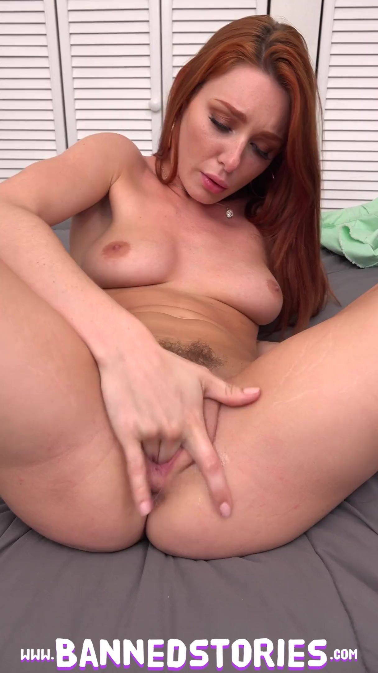 FULL SCENE Busty Redhead Teen Lacy Lennon Gets Ginger Pussy Pounded