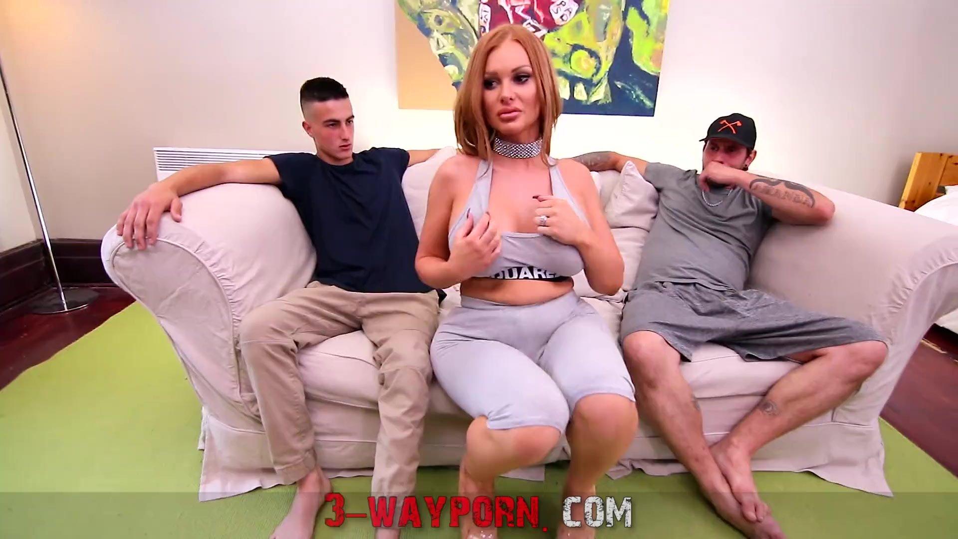 3-Way Porn - Amateur Trios Dirty Fuck