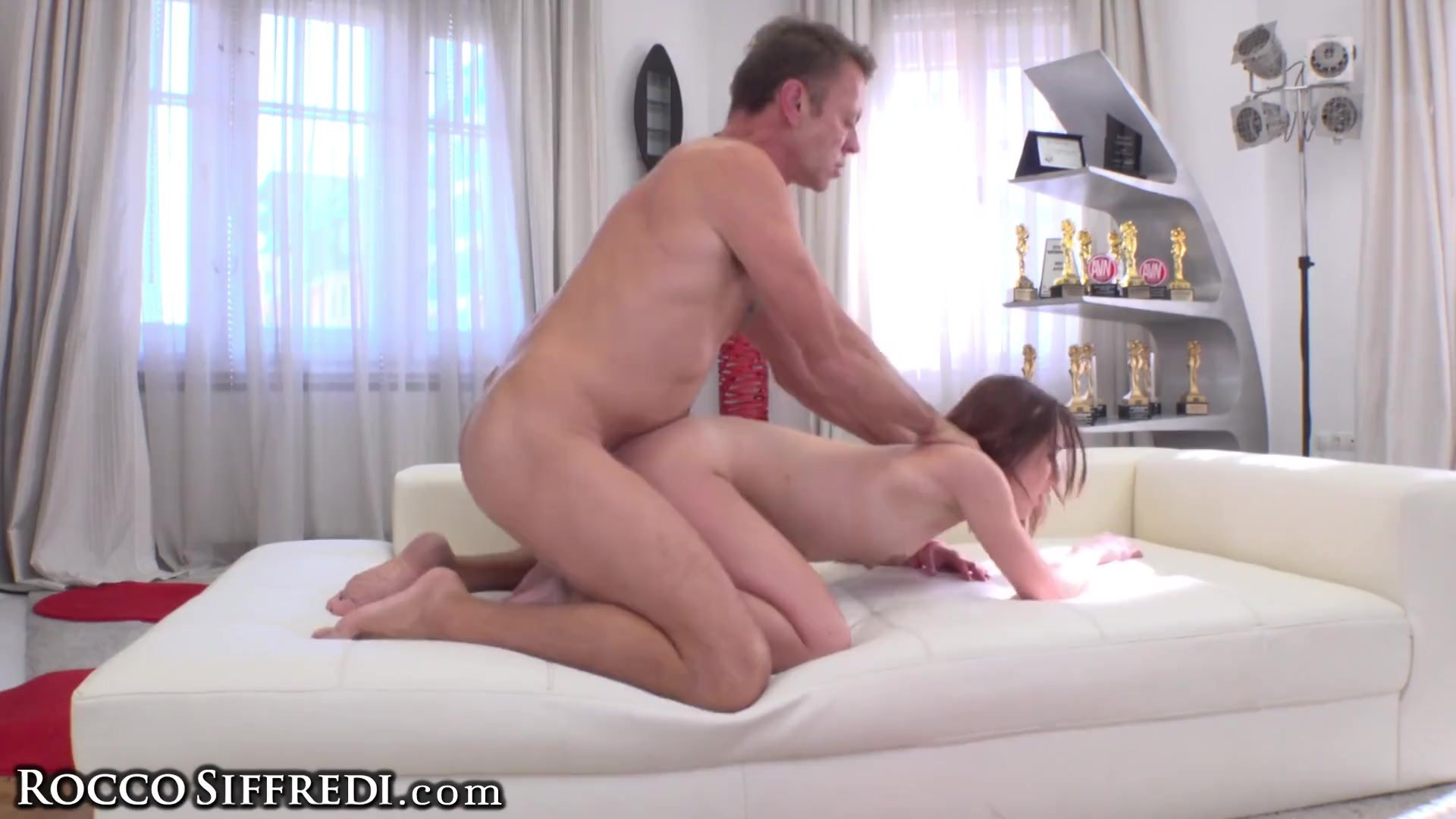 RoccoSiffredi Teen Takes 2 Cocks At a Time in Ass & Puss