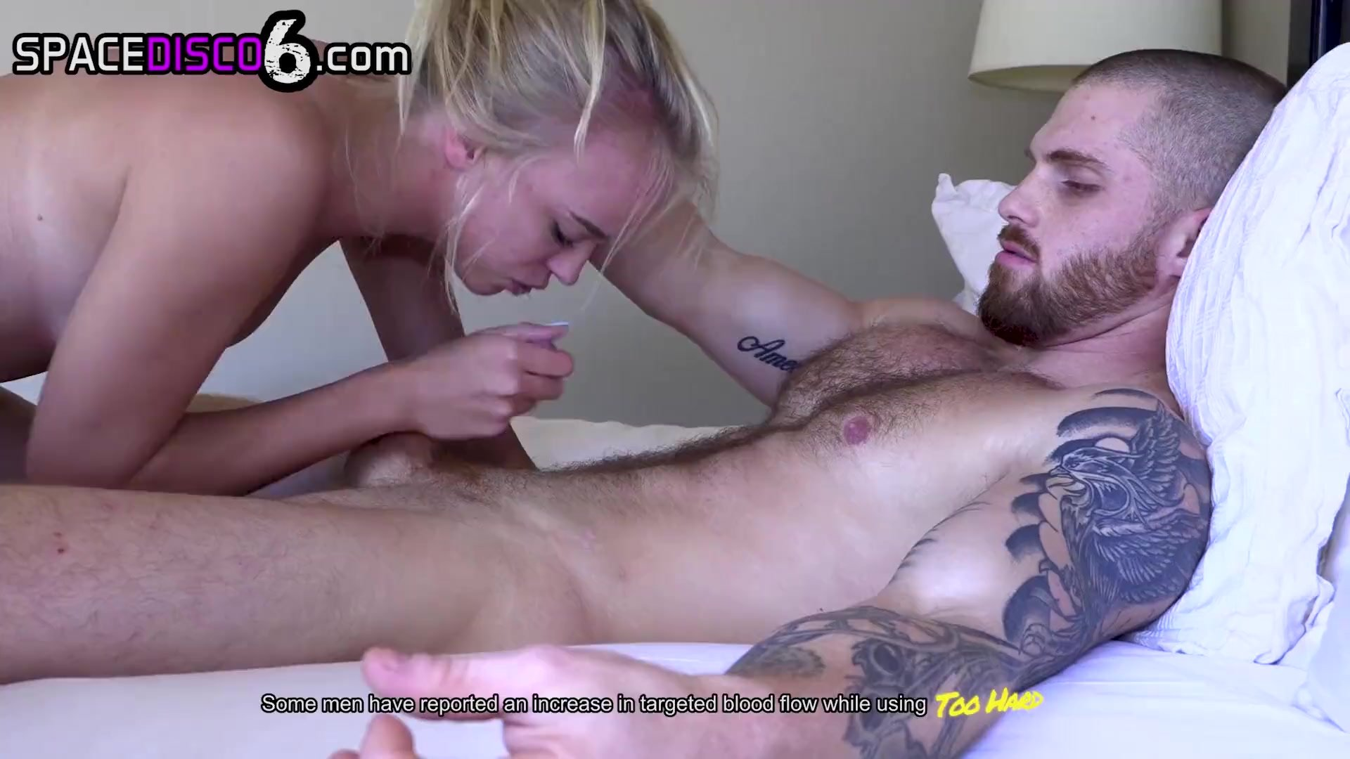 Tough Stud Fucks Tiny Spinner Babe ROUGH AS FUCK