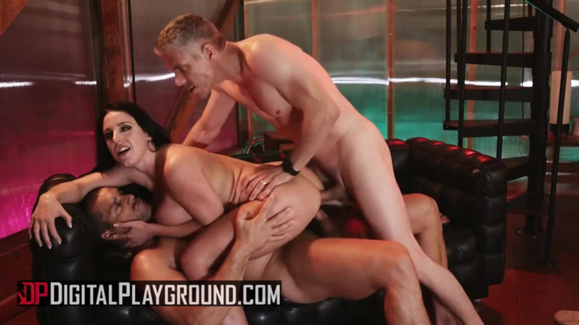 Digital Playground - Thicc busty Angela White gets DPed deep