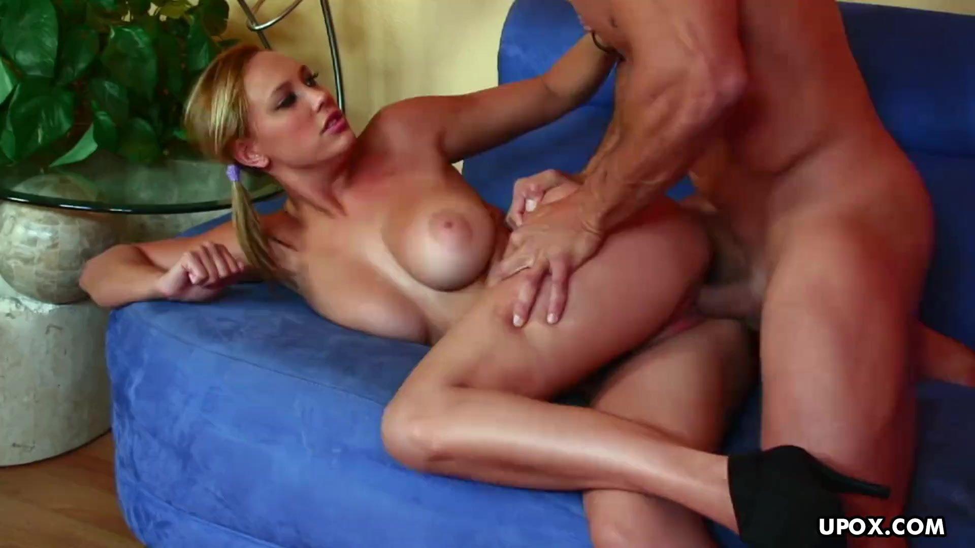 Busty blonde honey, Alexia Rae had hardcore sex, in 4K