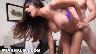 Fucking big tits doggie style Tattooed Chick With Big Boobs Gets Hardcore Fuck From Her Boyfriend In Doggy Style In The Bed