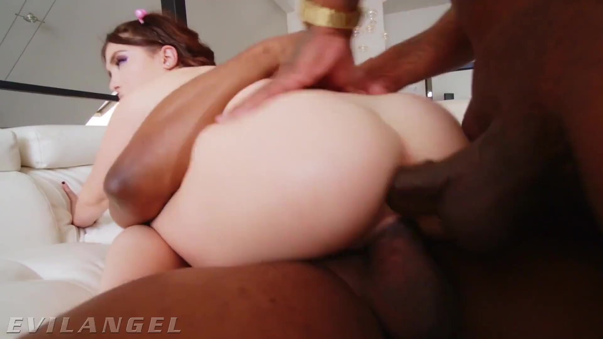 EvilAngel - Petite Jane Wilde Double Teamed by 2 BBCs