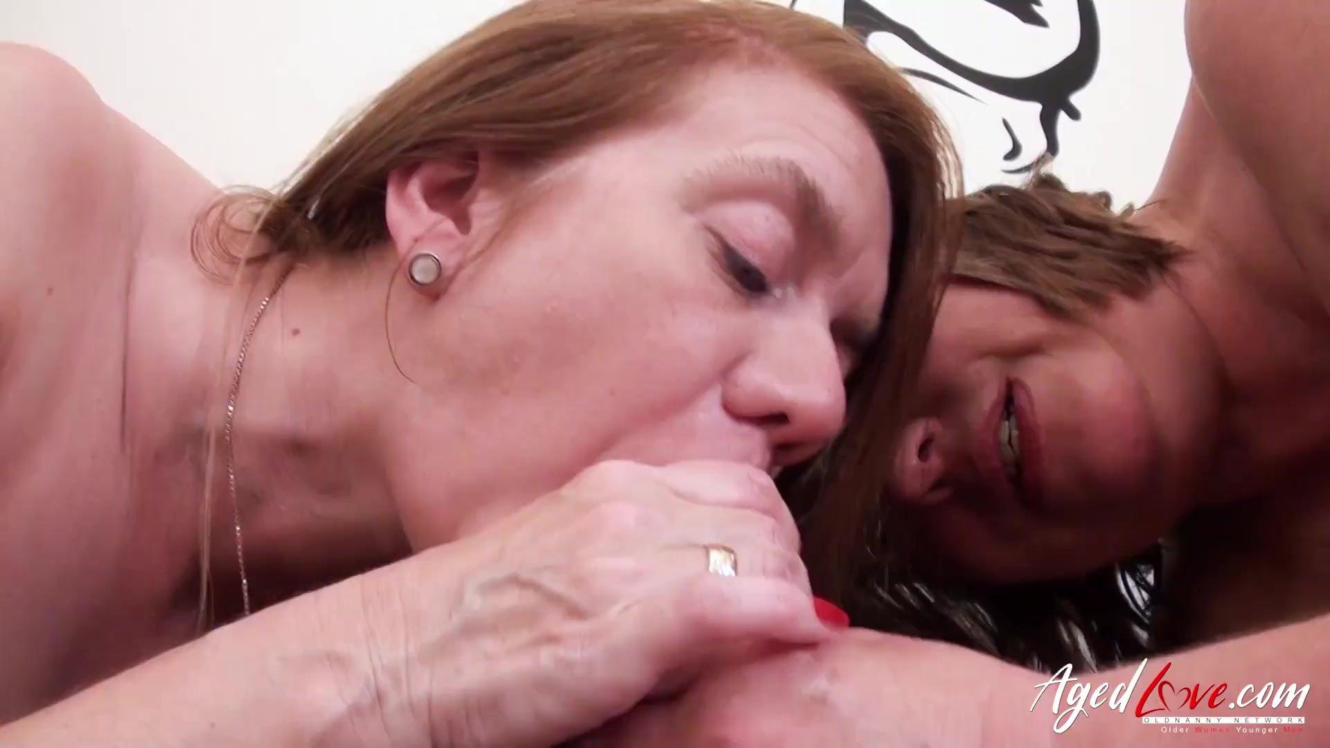AgedLovE Busty British Matures Hardcore Sex Video