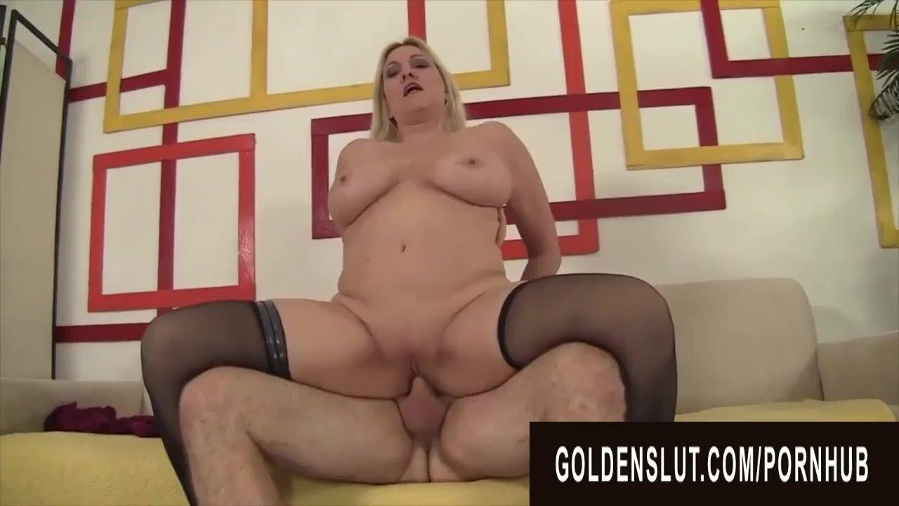 Golden Slut - Gorgeous Busty Grandma Cala Craves Compilation Part 3