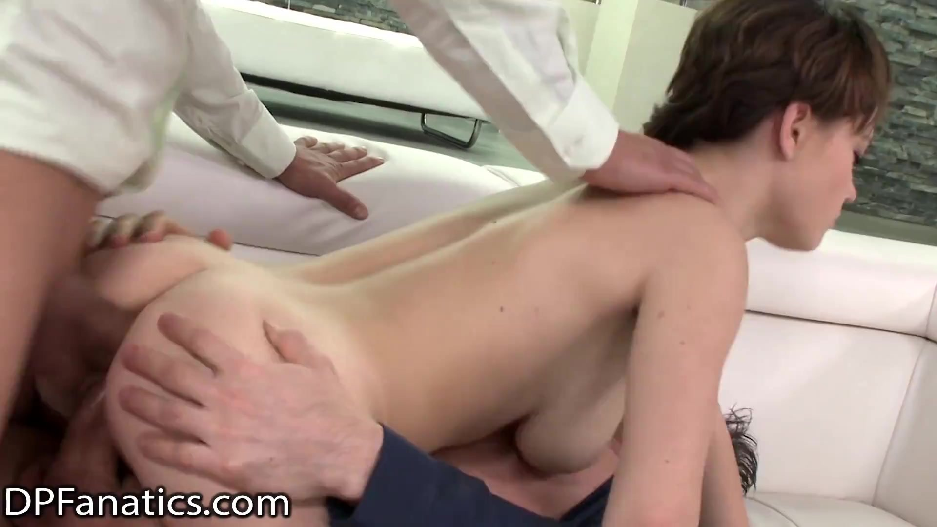 DPFanatics Young Babe Gets Double-Banged To Get Better Grades