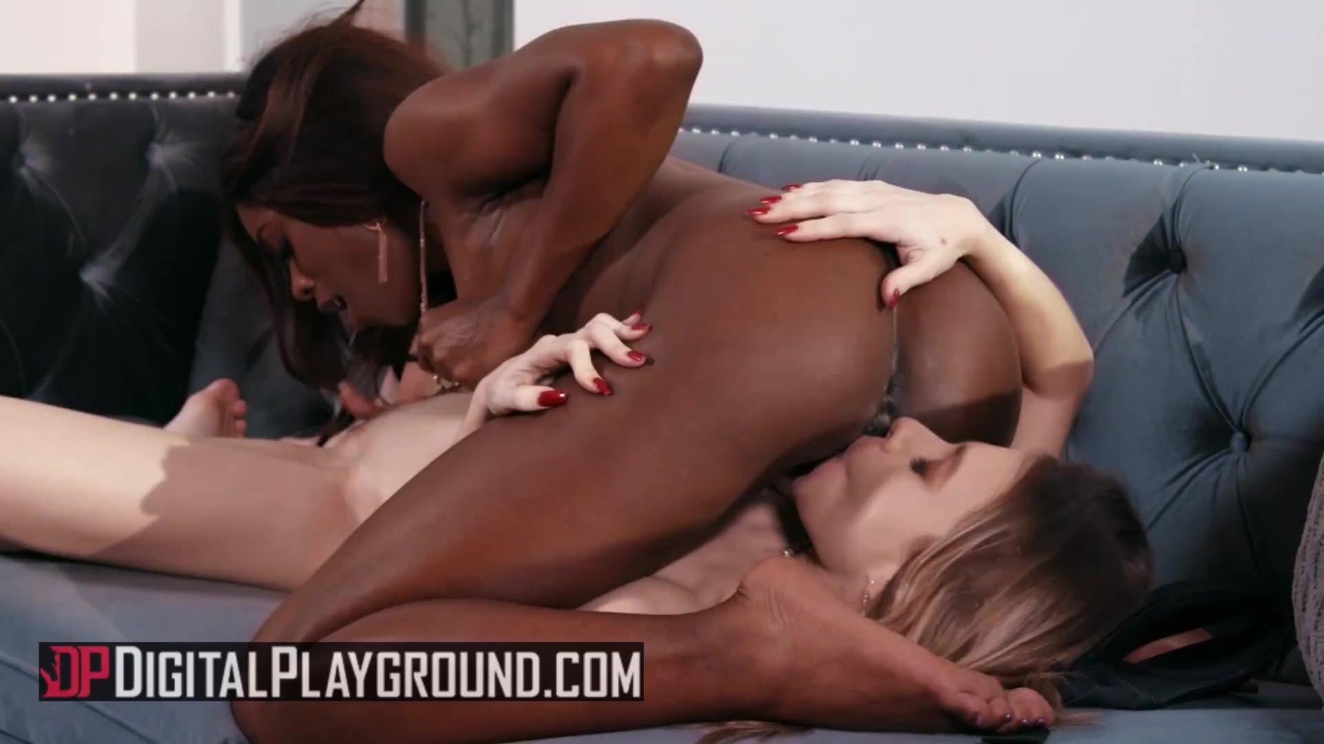 DigitalPlayground - Beautiful Anya Olson & Ana Foxxx love eating pussy