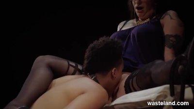 Lesbian Femdom With BDSM Fetish Play