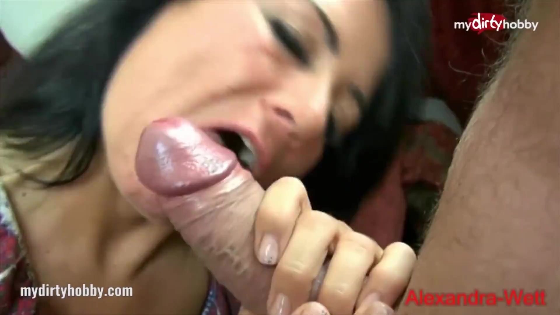 MyDirtyHobby - Cock-hungry MILF seduces a young stud