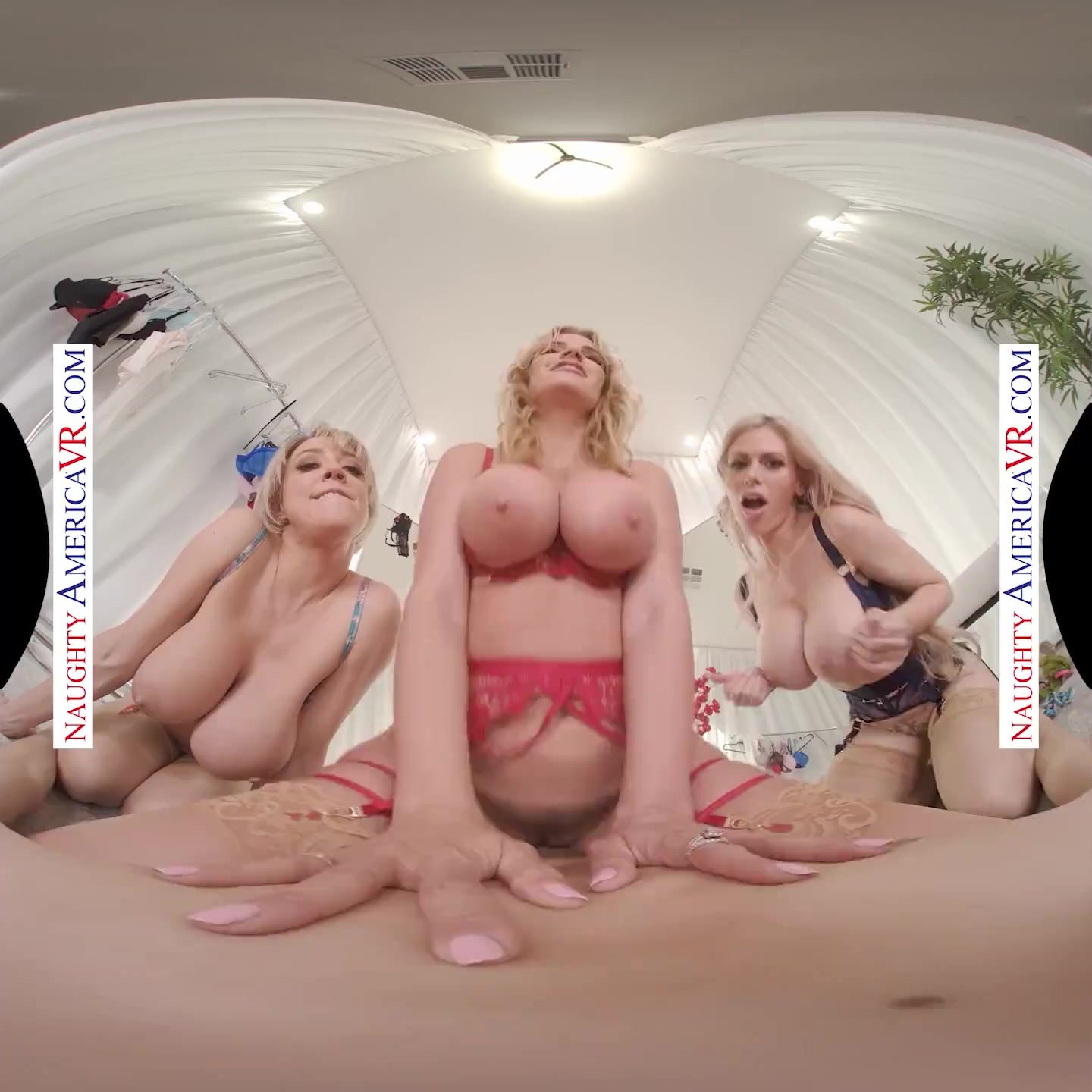 Naughty America - Casca Akashova Dee Williams and Rachael Cavalli undress only for your eyes