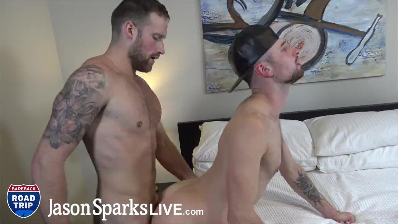 JasonSparksLive - Logan Carter and Drew Dixon suck and fuck bareback