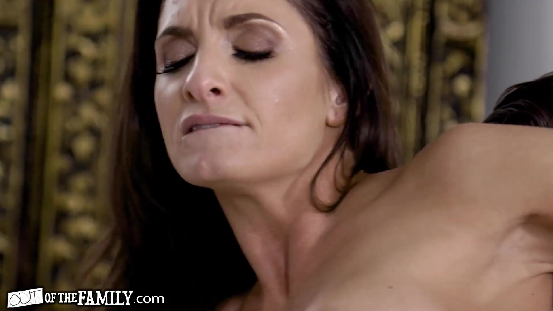 OutOfTheFamily Silvia Saige Can't Stop Fantasizing Her Stepson's Dick Inside Her Ass