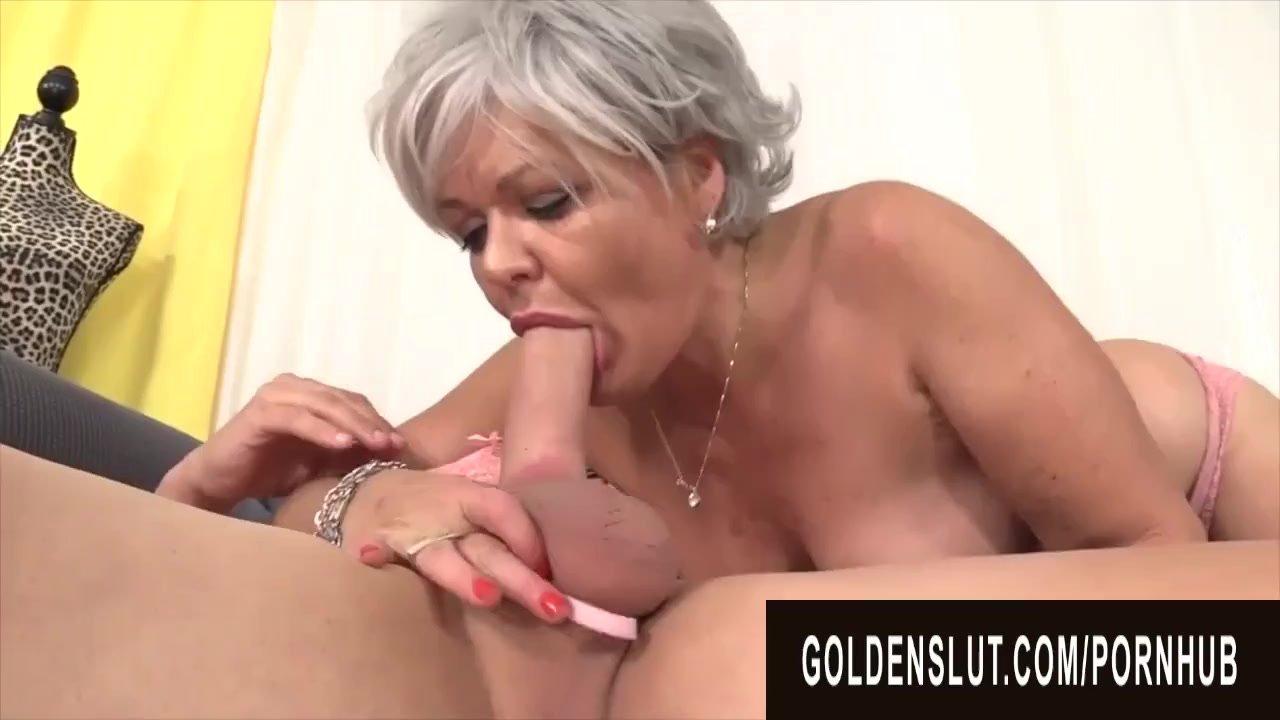 GoldenSlut - Older Ladies Show off Their Cock Sucking Skills Compilation 20