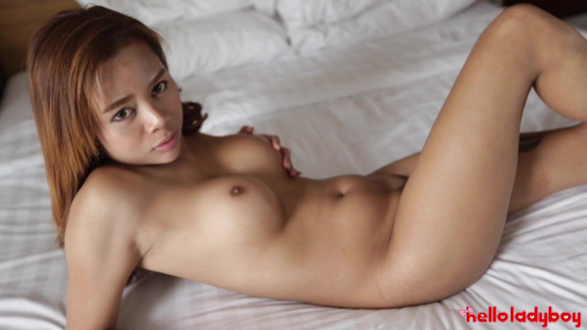 HelloLadyBoy Big Tit Asian Babe Gets Off Teasing Foreign Dick