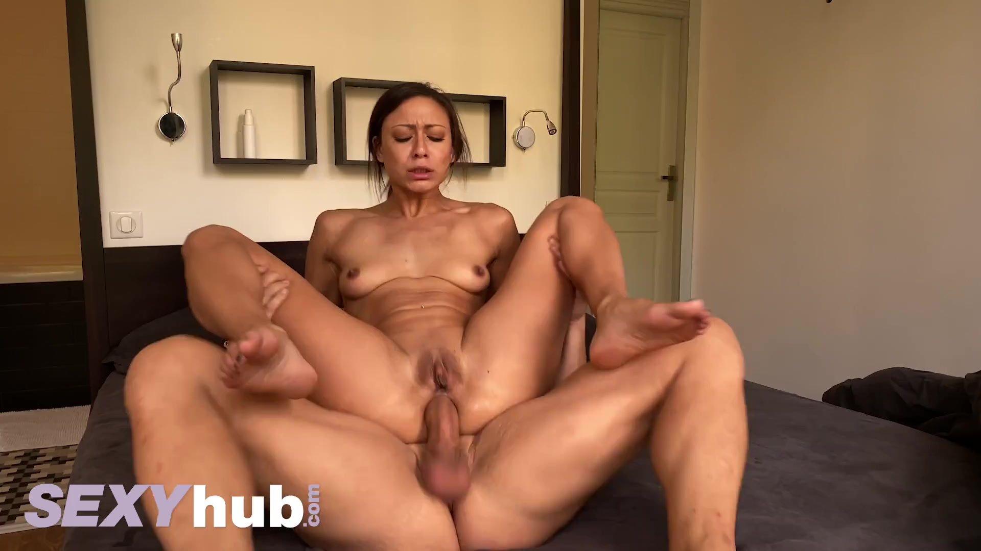 Dane Jones Homemade sex tape anal creampie for French milf Cassie Del Isla