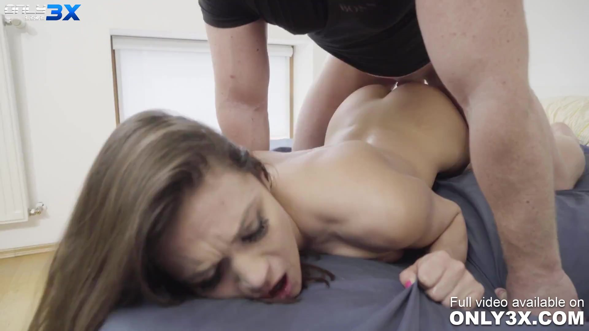 Bombshell Alyssa Reece and Chad for a one-night stand sex - scene by Only3x LOST