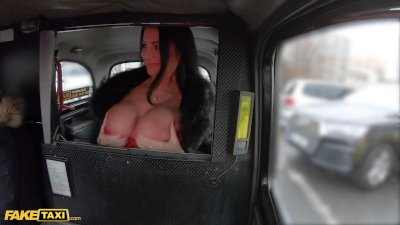 Fake Taxi French MILF Ania Kinski Gets Fucked in Red Lingerie
