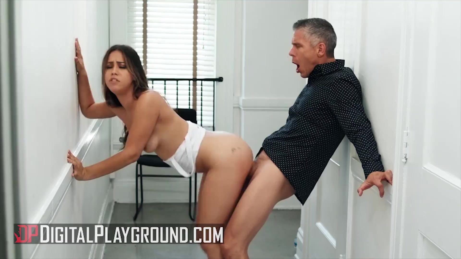 Digital Playground - Hot Babe Alina Lopez Get Fucked From Mick At The Corridor