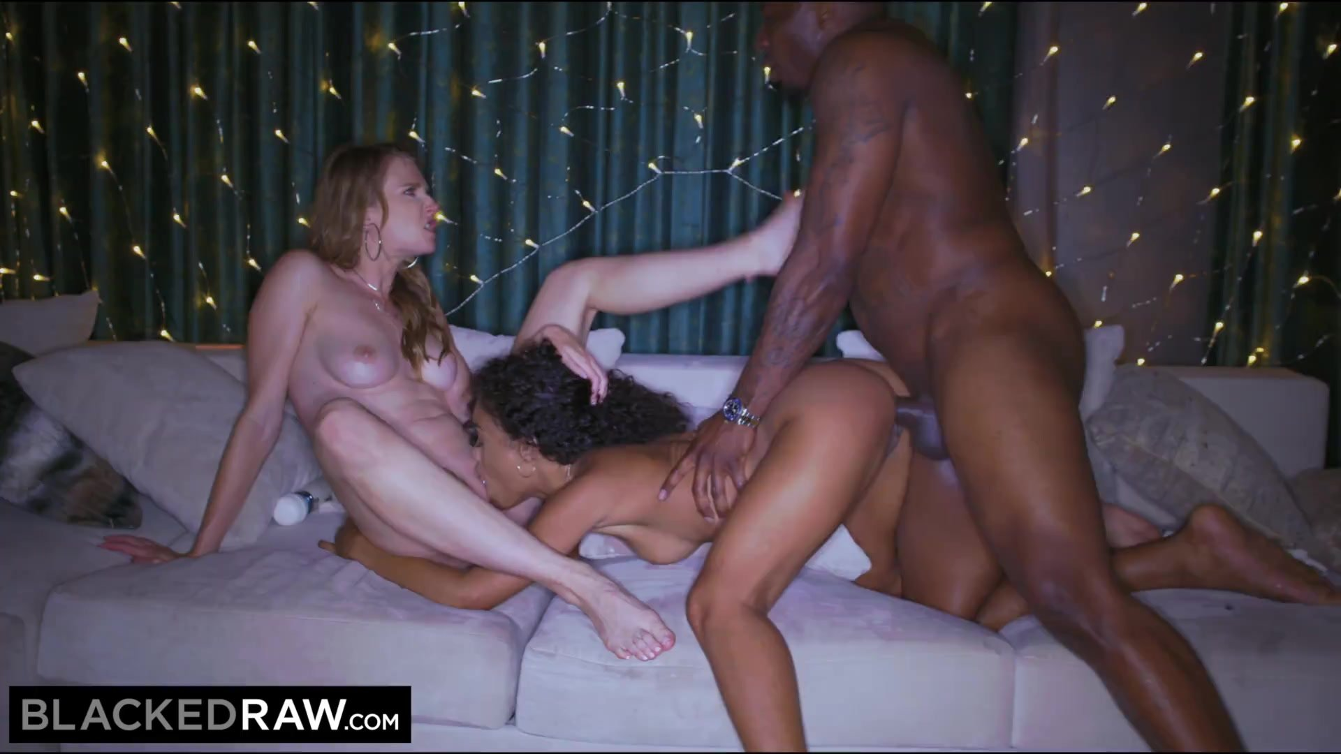 BLACKEDRAW Gorgeous party-girls can't get enough BBC