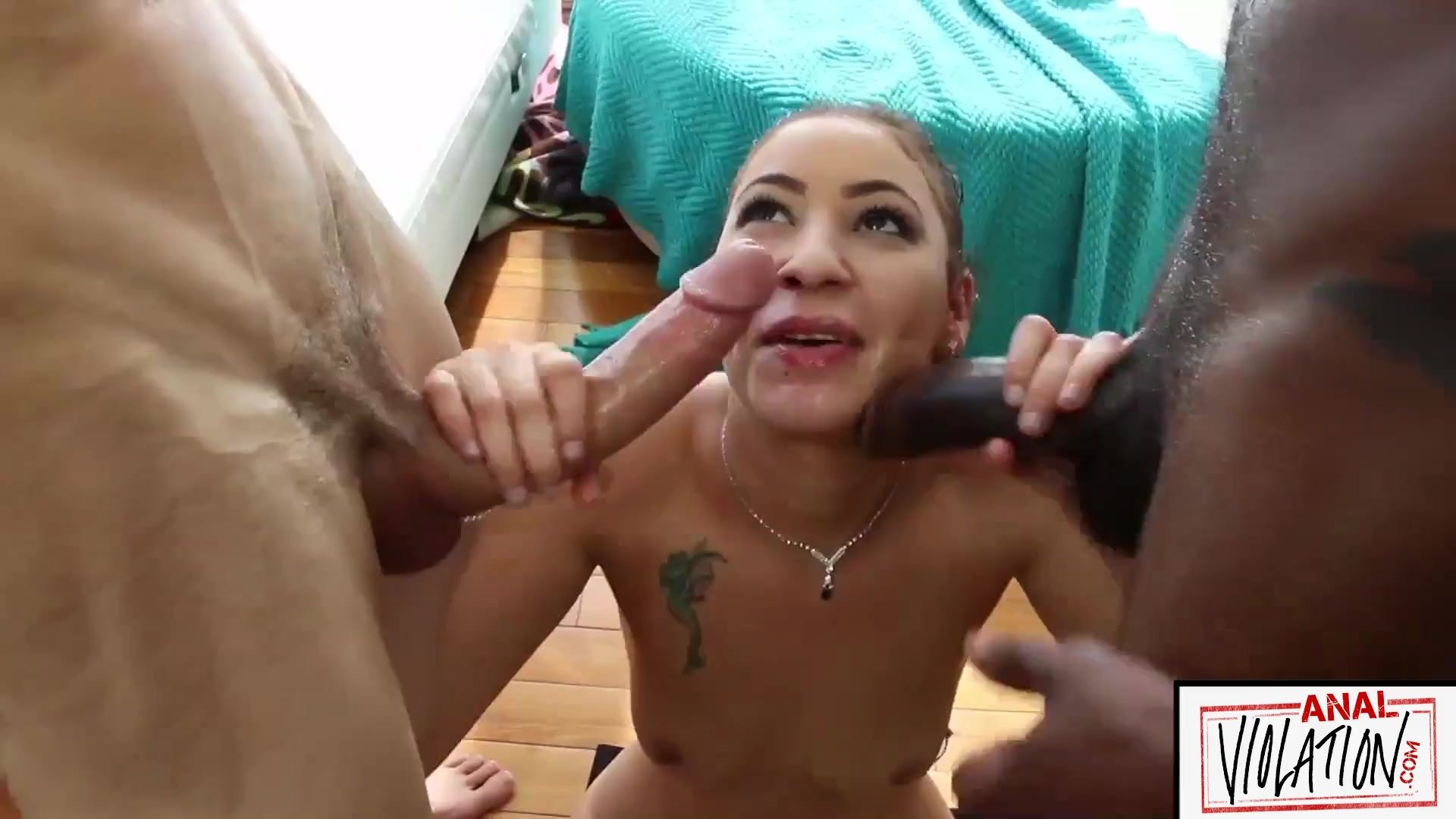 ANALIZED - DOUBLE PENETRATION ALL NATURAL LATINA ANAL THREESOME