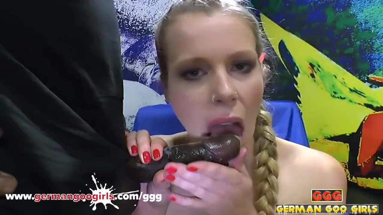 Cousin Claudia the Tall Blonde Cock Sucker Loves BBC and Dildo