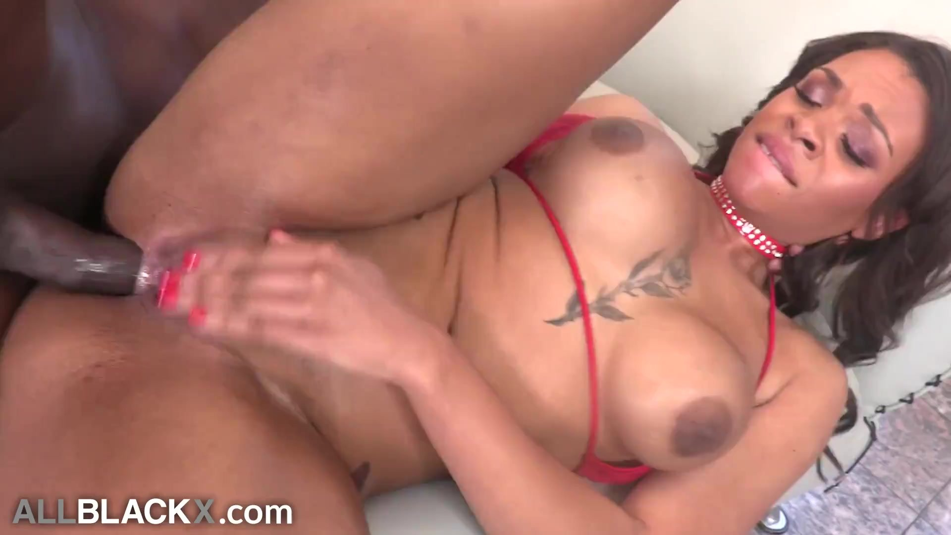AllBlackX - First Time Anal For Thick, Twerking Booty