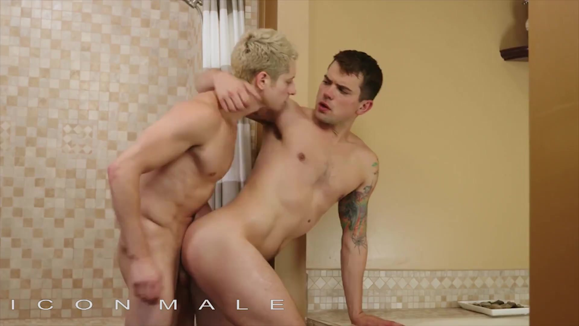 Icon Male - Two Hunks Armond Rizzo & Argos Santini Fucking In The Shower Room