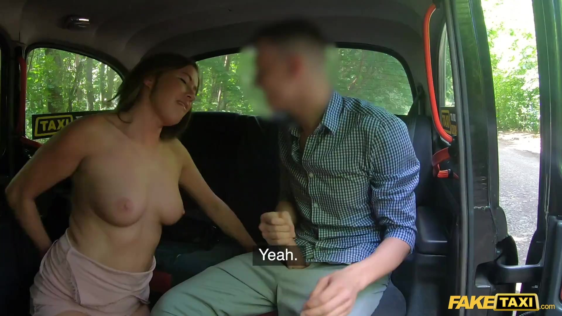 Fake Taxi Elisa Tiger uses her great tits and big ass to get her own way