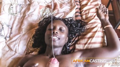 African amateur eager for her first facial