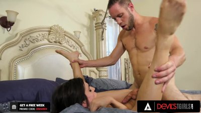 DevilsTGirls Trans Korra Del Rio Gets Pounded Doggystyle All Day By Horny BF