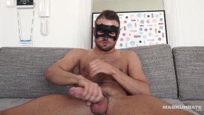 Maskurbate - Sexy Jeffrey Lloyd Jerking For Your Voyeur Pleasure